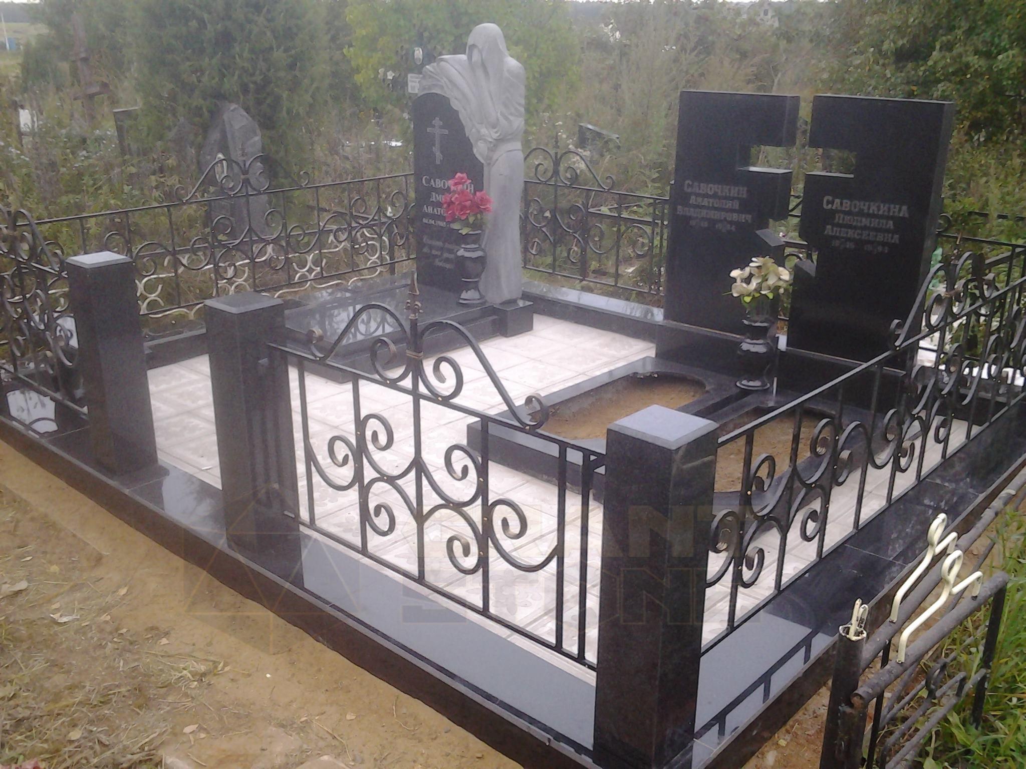Комплексное благоустройство могил