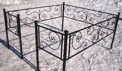 Ограда на могилу (бриз) 001