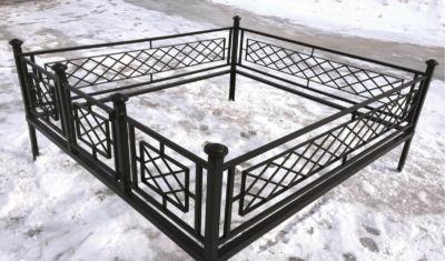 Ограда на могилу (решетка) 007