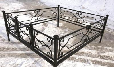 Ограда на могилу (венера) 012