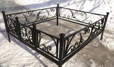 Ограда на могилу (лиана) 013