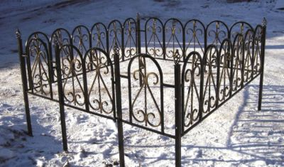 Ограда на могилу (дюна) 014