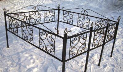 Ограда на могилу (верба) 016