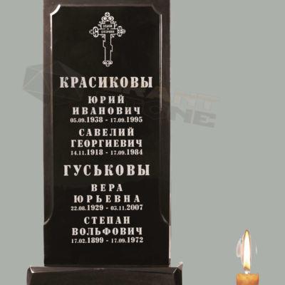 Памятники из литьевого мрамора Л 00013
