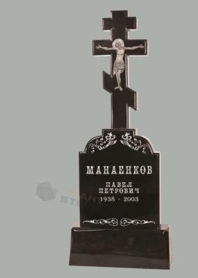 Памятники из литьевого мрамора Л 0020