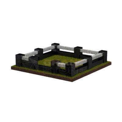 Цоколь гранитный Ц-Г 0017